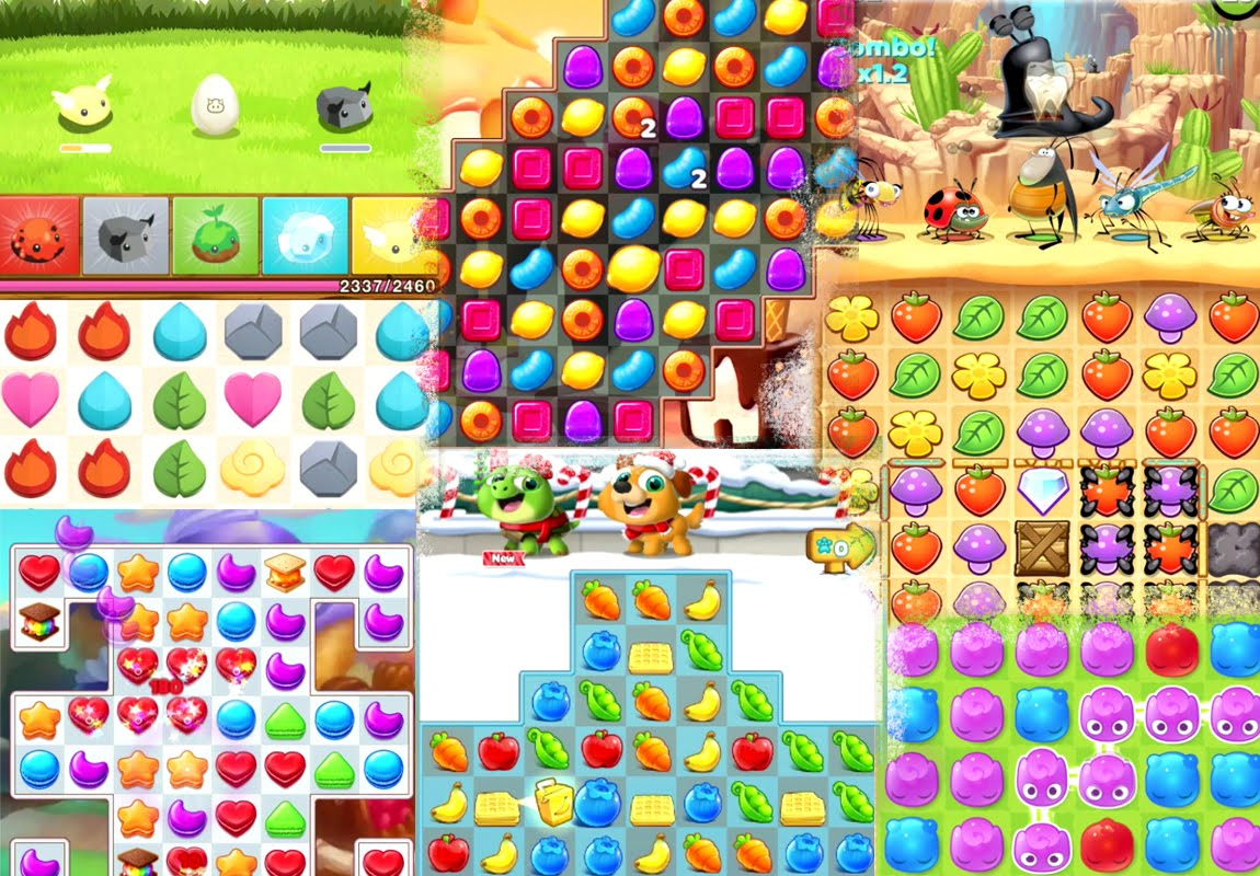 5 best Android games like as Candy Crush Saga