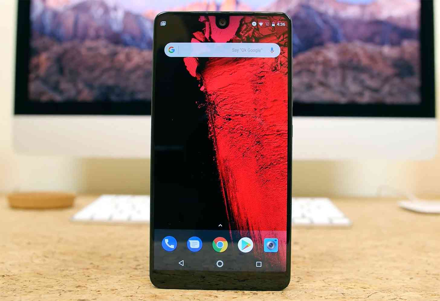 Essential Phone recieves February security patch one day after Pixel/Nexus , Essential Phone recieves February security patch, Essential Phone
