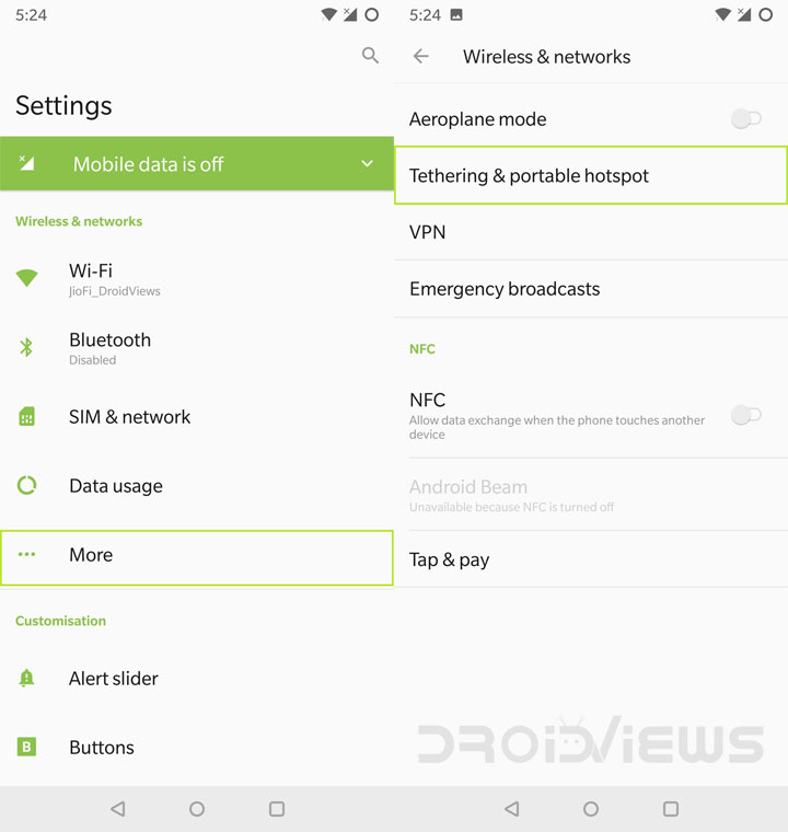 How to Set Up and Use Wifi Hotspot and Tethering on any Android Device , Use Wifi Hotspot and Tethering on any Android Device, How to enable Wifi Hotspot in Any Android Device