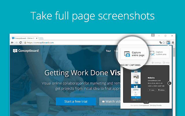 Take Screenshot on Windows 10
