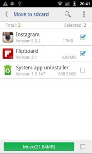 Free Up Storage Android