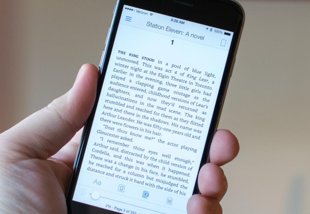 Phone as an E-Reader