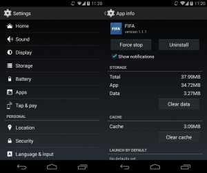 Turn off safe mode Android