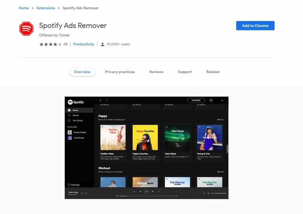 Block Ads on Spotify