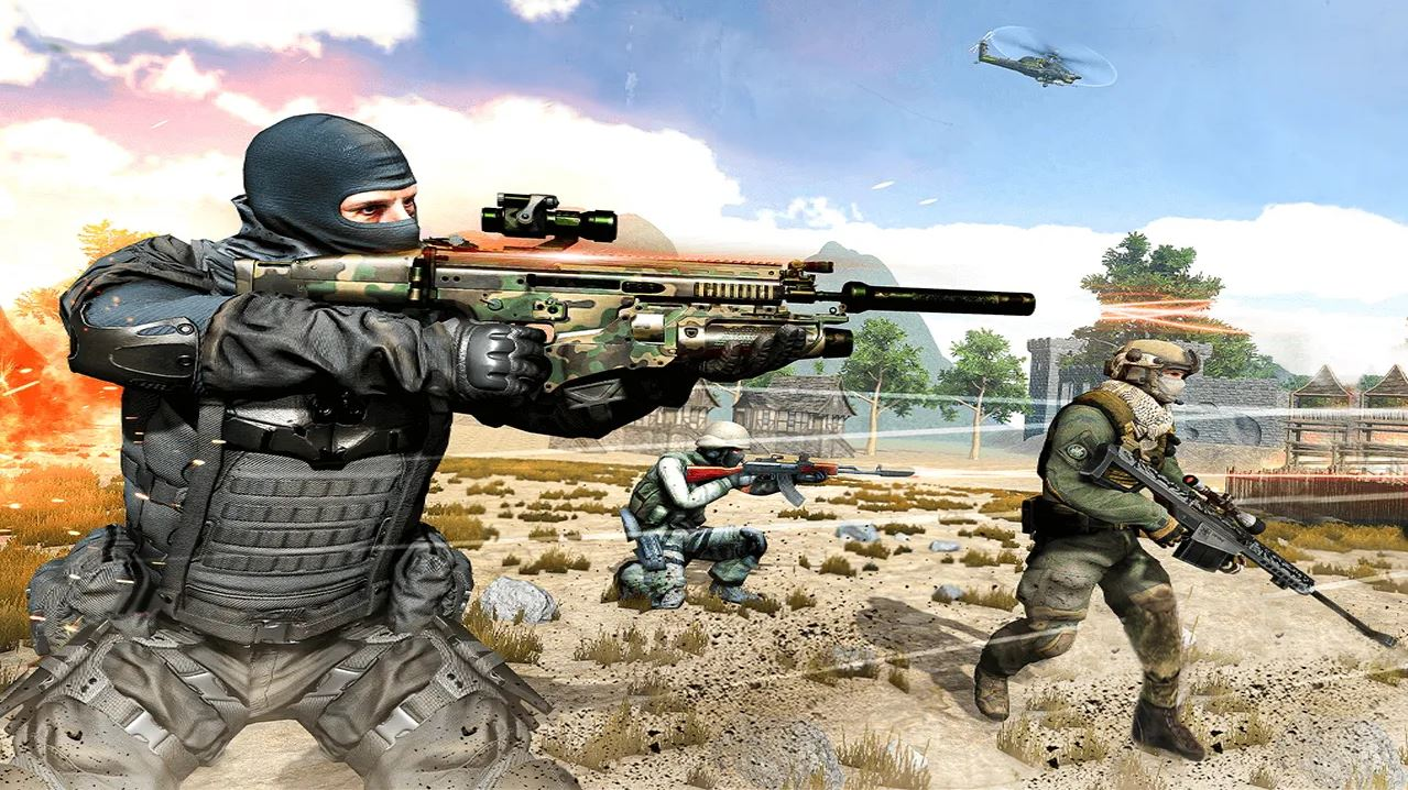 Gun Strike MOD Apk
